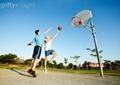 篮球场景观,篮球场设计,篮球框