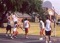 籃球場,籃球場地面,運動場地