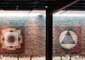 瑜伽室,瑜伽馆,景墙,景墙图案