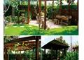 庭院景觀,庭院花園,廊架,涼亭