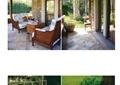 庭院花园,庭院景观,花园景观,沙发茶几,石桌凳