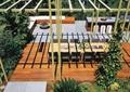 庭院景观,庭院设计,餐桌设计,廊架