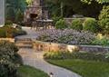 庭院景观,景观设计,火炉