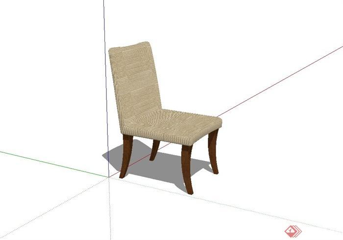 某现代风格椅子设计su模型