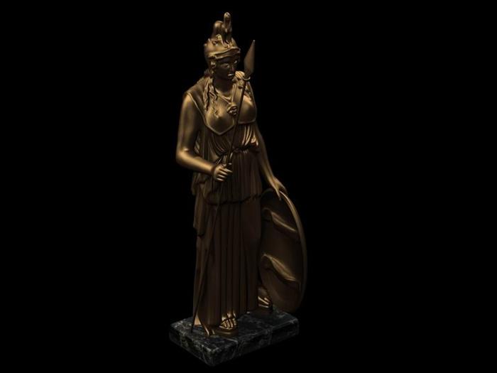 某欧式士兵造型雕塑小品su模型(2)
