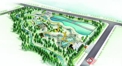 四川:德阳旌南公园园主正式开湿地卧带阳台设计图图片