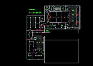 中式快餐中央加工配送中心CAD施工图