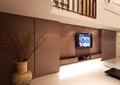 客厅,电视背景墙,电视柜,花瓶摆件