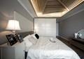 卧室,双人床,床,床头柜,柜子,衣柜