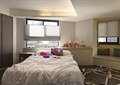 卧室,柜子,双人床