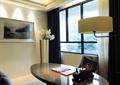 阳台,桌子,椅子,落地灯
