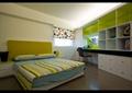 卧室,双人床,柜子