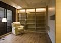 書房設計,落地燈,沙發,柜子