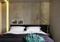 卧室,双人床,床,床头柜,台灯