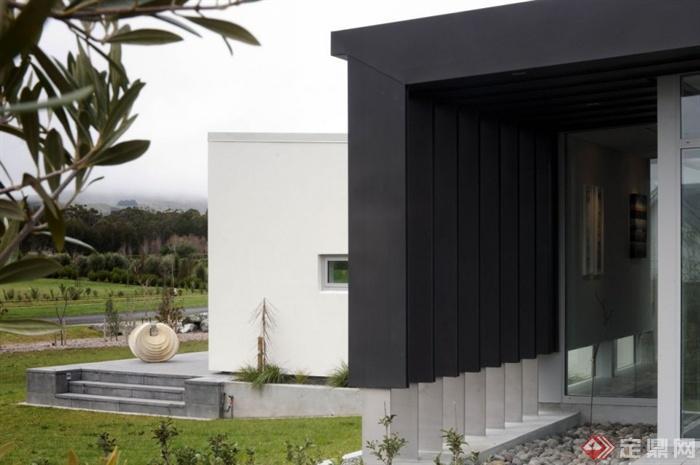 简约-新西兰Dixon现代石子-别墅底层别墅铺装v石子庭院别墅高室内图片