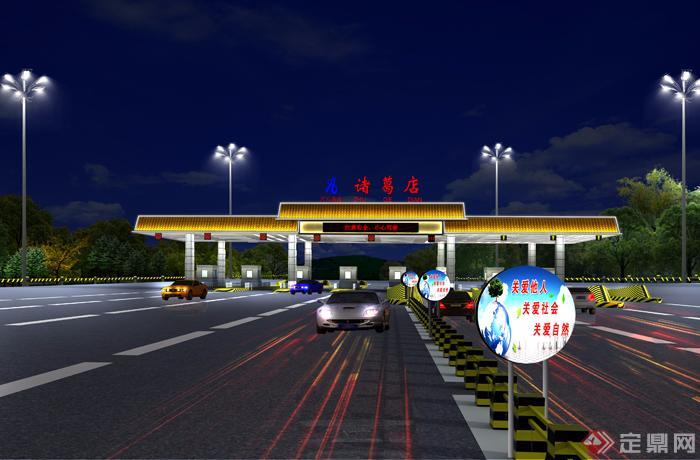 高速公路收费站的安全管理