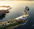 滨海建筑,滨海景观,交通码头