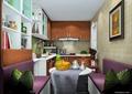 厨房,餐厅,沙发,桌子