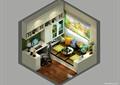 书房,书柜,桌椅