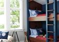 儿童房,高低床,窗户