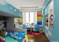 儿童房,儿童床,高低床,桌椅,柜子