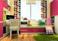 儿童房,书桌,坐凳,柜子