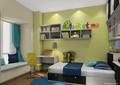 儿童房,榻榻米式床,培训,桌椅