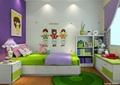 儿童房,榻榻米,床头柜,书柜