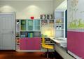 儿童房,书柜,桌椅,衣柜