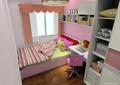 儿童房,儿童床,衣柜,桌椅
