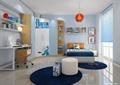 卧室,卧室床,桌椅,衣柜,坐凳