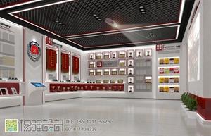 消防支队荣誉展厅—杨强设计