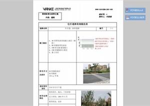 景观标准化成果之道路设计PDF