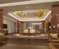 住宅室内装饰,餐厅,桌椅,木屏风