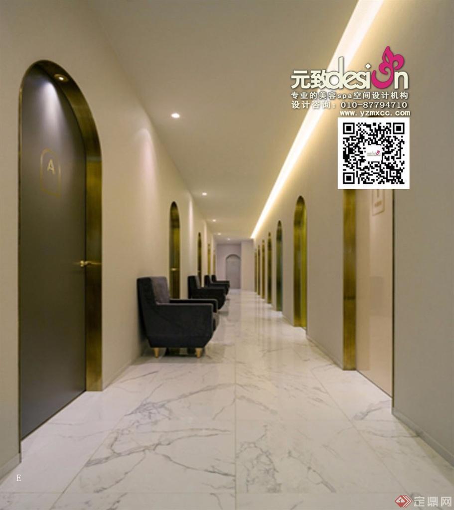 项目名称:思妍丽美容SPA会所装修设计 设计单位:北京元致美秀环境艺术设计有限公司 主创设计:赵志伟 设 计 师:侯新霞,管玉通 项目面积:1600平方米 主要材料: 西班牙沙石,奥金米黄,灰芝麻,瓷砖,地毯,硬包布等 现在的人也是越来越爱美了,很多都是喜欢去整形做个整形,所以整形医院也是很多有,整形美容医院装修设计上色彩不仅具有视觉冲击力,同时也会对人的思维活动、心理情绪产生影响。那么整形美容医院装修设计要注意哪些事项,下面这边就来简单介绍一下,可以参考看看的。 整形美容医院装修设计外观装饰:A.