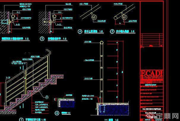 多个详图图库v多个CAD围栏图腾cad栏杆图片