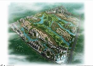 南宁某欧式别墅住宅区景观设计案例高清文本图片