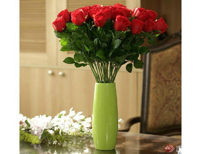 玫瑰花干花的制作