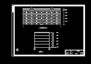 现代中式风格砖混宿舍楼毕业设计(计算书、概预算、施组、部分图纸)