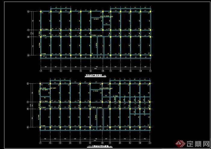 现代风格六层毕业设计大学生公寓(计算书,部分结构图