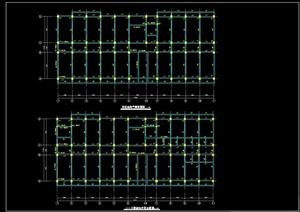 现代风格六层毕业设计大学生公寓(计算书、部分结构图、施组)