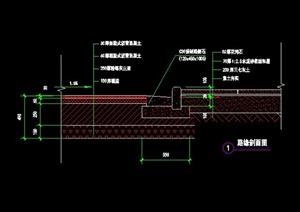 道路设计剖面CAD施工图