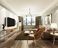 客厅设计,沙发组合,装饰画,电视柜