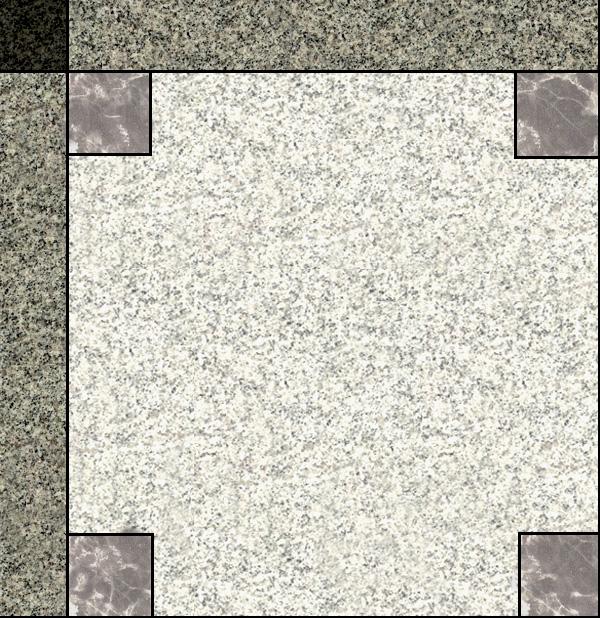 某现代风格广场砖与拼花贴图[原创]