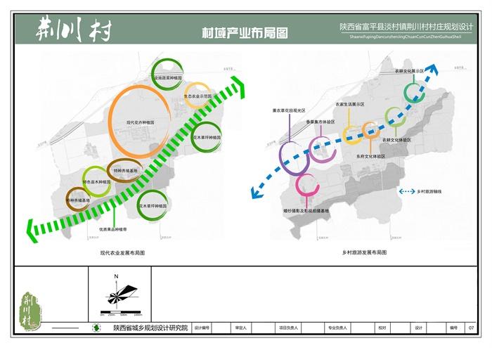 陕西省渭南市富平县淡村镇荆川村村庄规划设计方案(7)