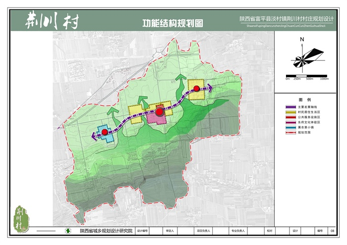 陕西省渭南市富平县淡村镇荆川村村庄规划设计方案(8)