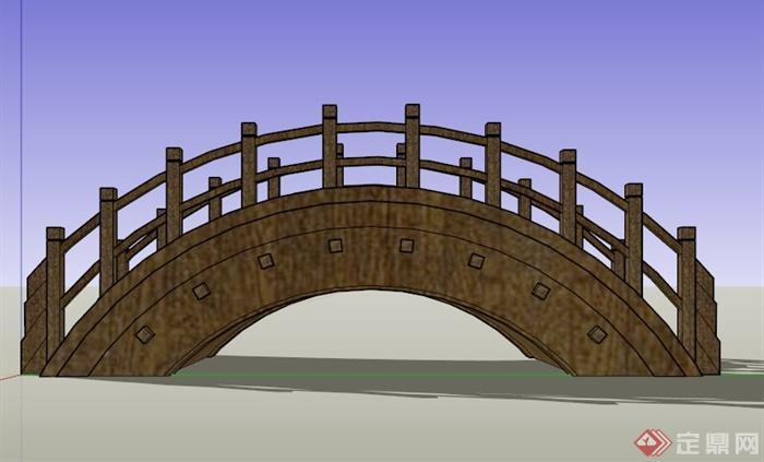 设计理念:以典型的中式木格栅为装饰