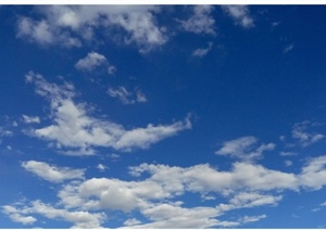 十一张天空云朵JPG配景素材