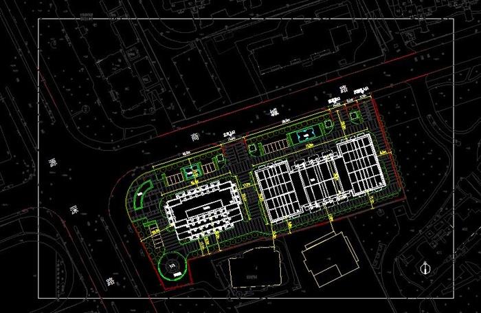 某高层欧式新古典办公楼、酒店建筑方案设计(cad、skp、效果图)(8)