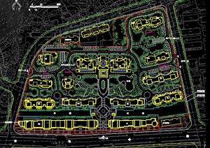 某商住小区规划平面图